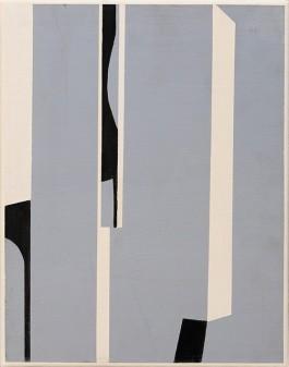 Abstracto gris, 35x27cm, Acrílico, 2017