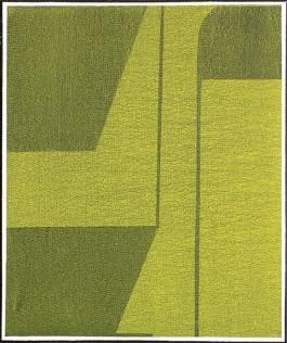 Aspecto verde, 55x46cm, Acrílico, 2017