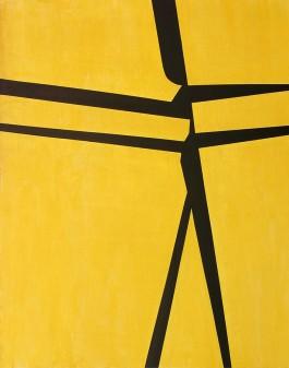 Giallo 162x130cm Acrilico 2016
