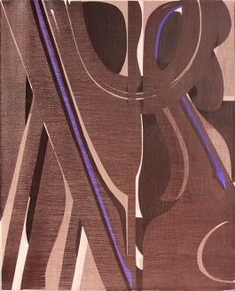 Pardo 162x130cm Acrilico 2017